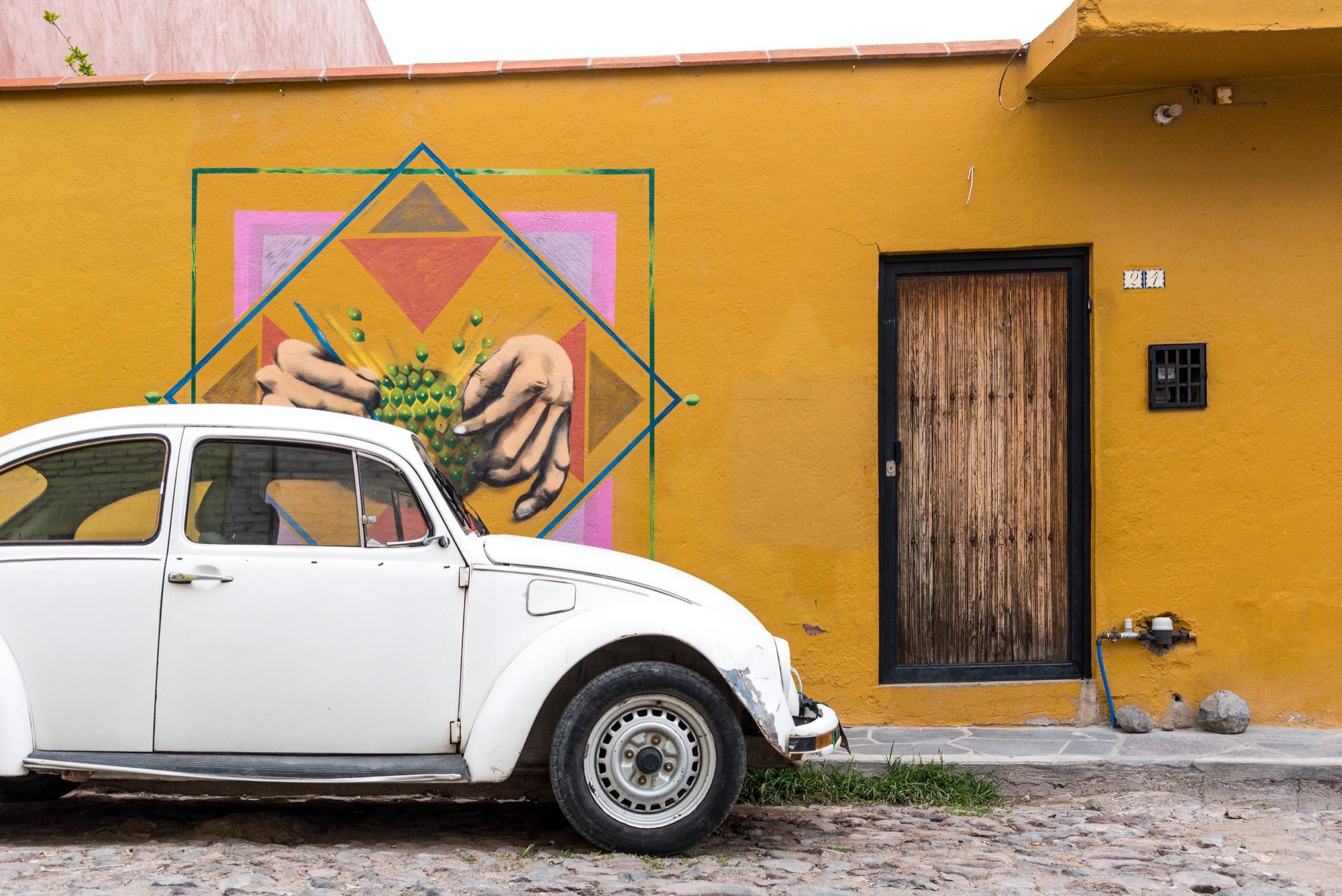 Distrito de Arte Urbano en San Miguel de Allende: Colonia Guadalupe